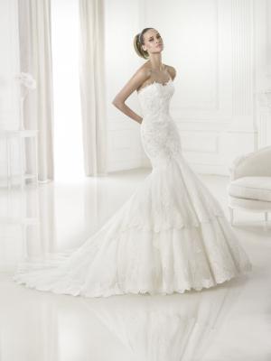 Foto do vestido , Modelo: Barquilla