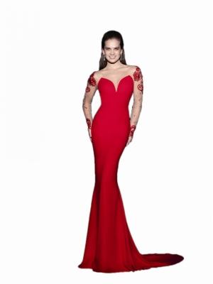 Foto do vestido TK 92435 (NUDE) – VENDA